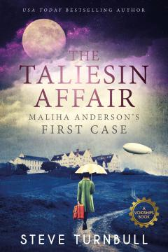The Taliesin Affair cover