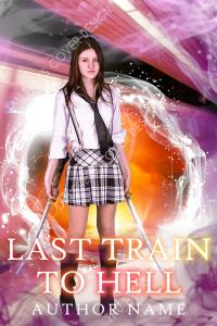 Last Train to Hell premade cover