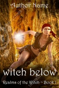 Witch Below premade cover